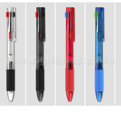 Plastic 4 in 1 Ball Pen
