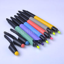 3 in 1 Plastic Pen (Ball pen/Stylus/Highlighter)