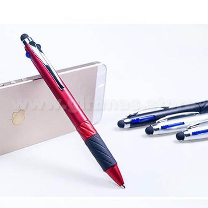 4 in 1 Plastic Ball Pen Stylus