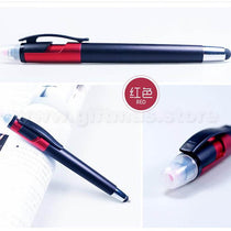 Plastic Ball Pen with Stylus & Highlighter