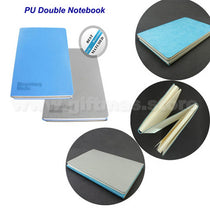 PU A5 DOUBLE COVER NOTEBOOK