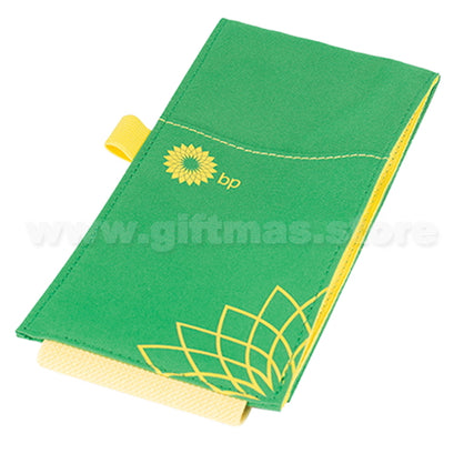 A5 NOTEBOOK with custom Elastic Belt Zip Pouch (Tailor made design)