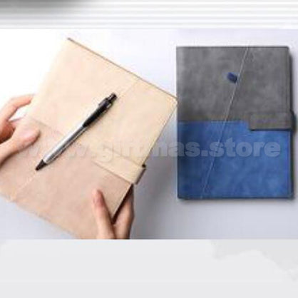 A5 PU Notebook (with pen loop on cover)