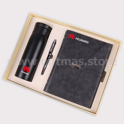 Executive Traveller PU Notebook GiFT Set