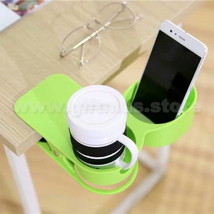Desktop Mug Clip & Phone Holder