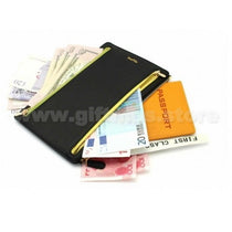Leather Currency Passport Wallet