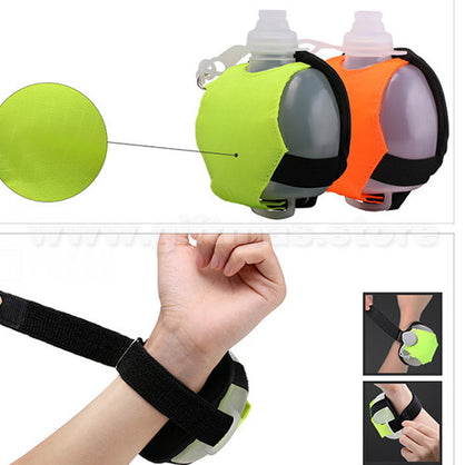Sporty Water Bottle Wrist Pouch