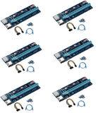 6-Pack V006C PCI-E 16x to 1x Powered Riser