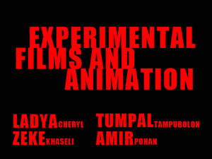 Experimental Films and Animation