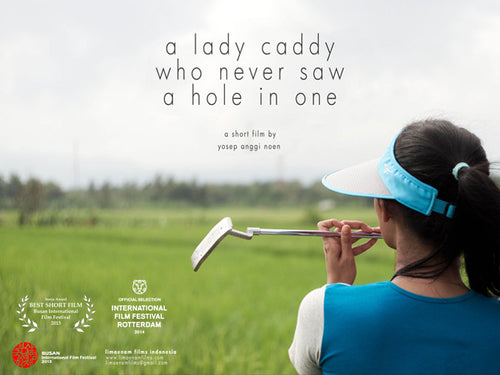 Lady Caddy Who Never Saw a Hole in One
