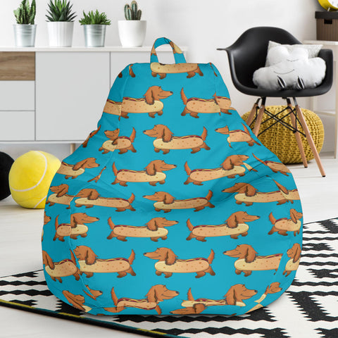 Fabulous Cute Dachshund Doxie Dog Ultra Soft Bean Bag Chair Seamless Bag Chair A Gift For Dachshund Lovers Inzonedesignstudio Interior Chair Design Inzonedesignstudiocom