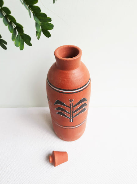 Terracotta water bottle