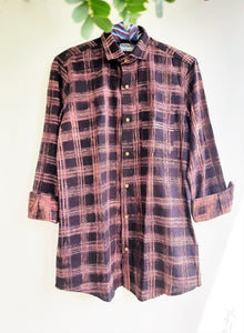 Hand spun men's shirt