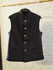 Black Nehru Jacket