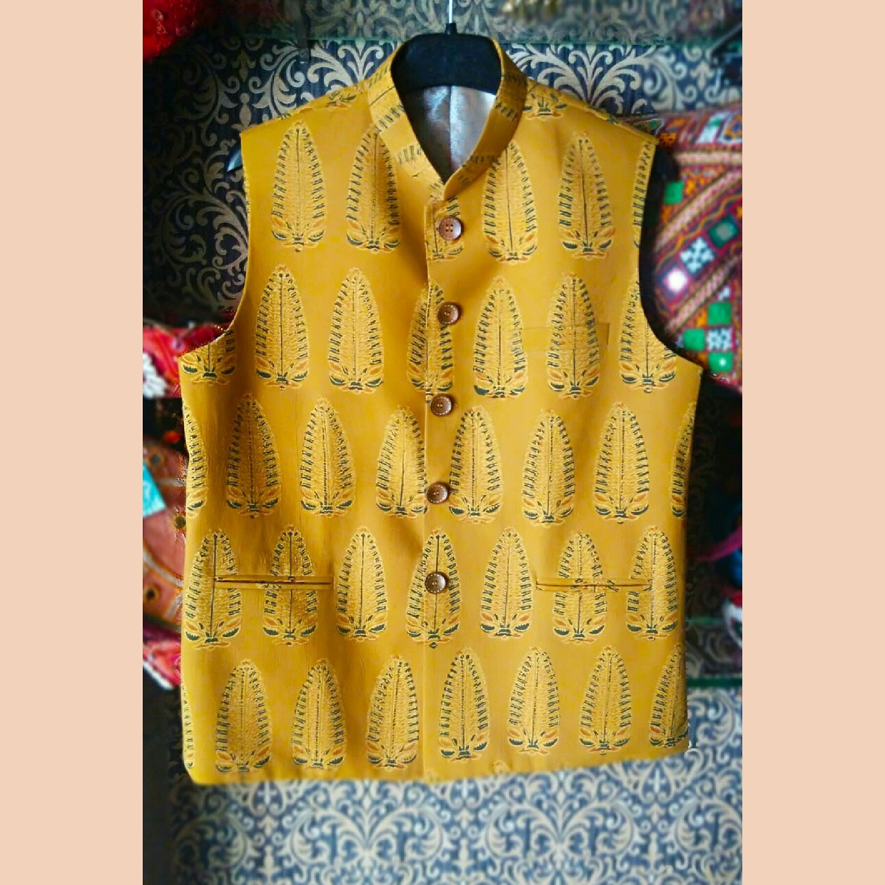 Asopalav men's nehru jacket