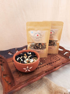 Homemade organic trail mix, handmade trail mix, trail mix, dried fruits