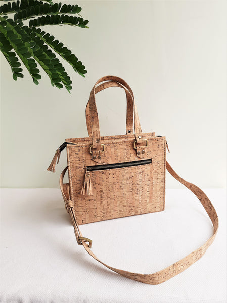 Cork Square Handbag