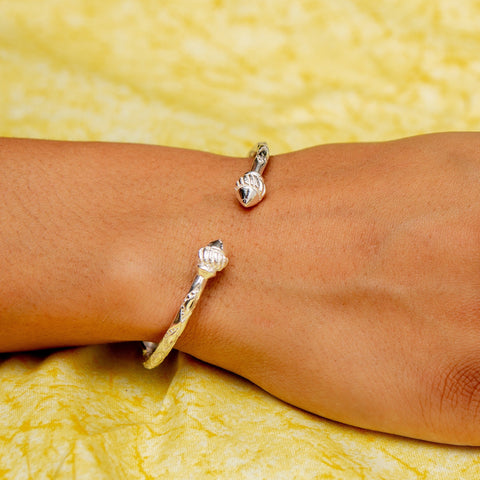 110 West Indian Bangle with Taj Mahal Handmade in 925 Sterling Silver