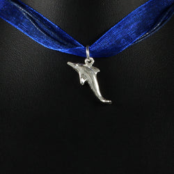 ***Clearance*** Caribbean Sea Dolphin Pendent in 925 Sterling Silver