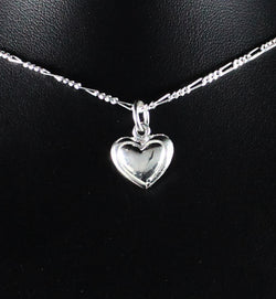 Small Heart Pendant in 925 Sterling Silver