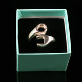 Men's Spanner Ring made in 925 Sterling Silver