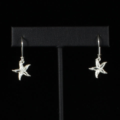 Caribbean Starfish Short Earring in 925 Sterling Silver