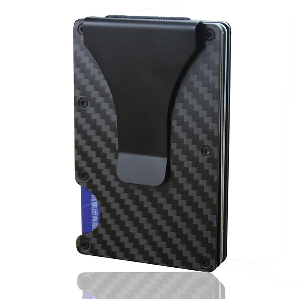 RFID Blocking Credit Card Moneyclip Wallet - Zillazoom