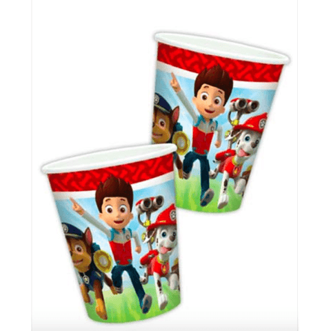 Paw Patrol Party Cups*8 - partypicks.com.au