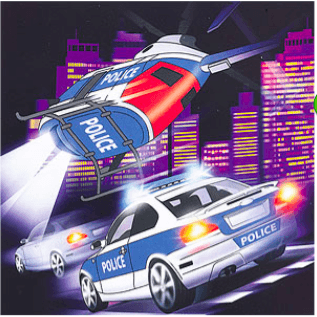 Police Party Napkins*20 - partypicks.com.au