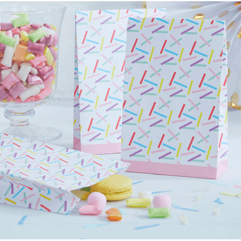 Pink and Mix Sprinkles Party Bags*8 - partypicks.com.au