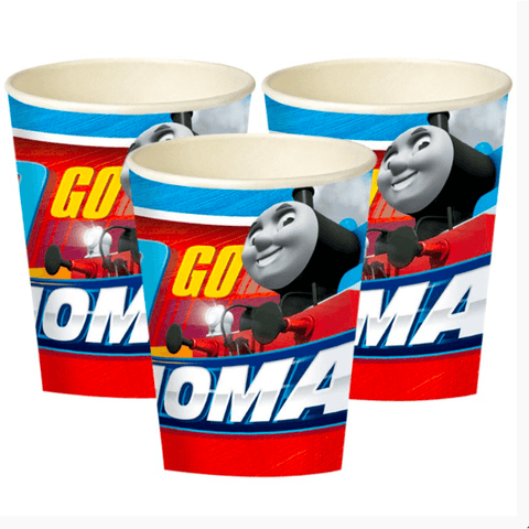 Thomas The Tank Engine Party Cups*8-2017 - partypicks.com.au