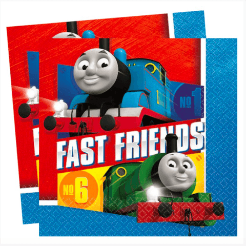 Thomas The Tank Engine Napkins -2017 - partypicks.com.au