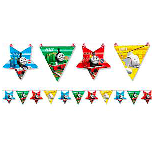 Thomas The Tank Engine Party Bunting - 2017 - partypicks.com.au