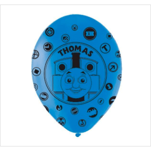 Thomas The Tank Engine Party Latex Balloons*6 - 2017 - partypicks.com.au