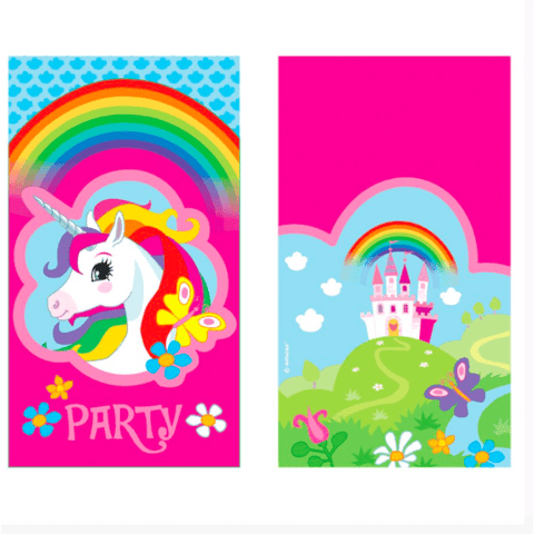 Mythical Unicorn Party Invitations*8 - partypicks.com.au