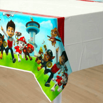 Paw Patrol Table Cover - partypicks.com.au