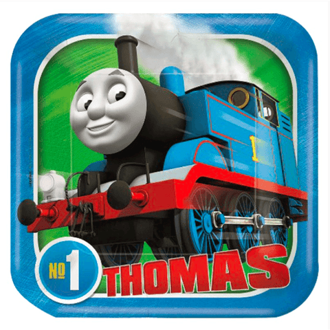 Thomas The Tank Engine Party Plates*8 - 2017 - partypicks.com.au