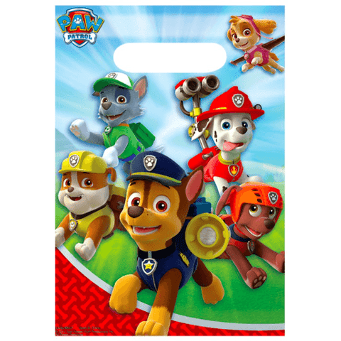 Paw Patrol Party Loot Bags*8