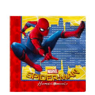 Spider-Man Homecoming Party Napkins x20