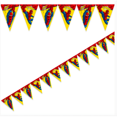 Spider-Man Party Bunting x2.6m