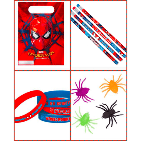 Spider-Man Loot Bag Kit for 12 Kids
