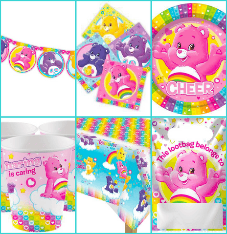 Care Bears Party Pack for 8 Guests