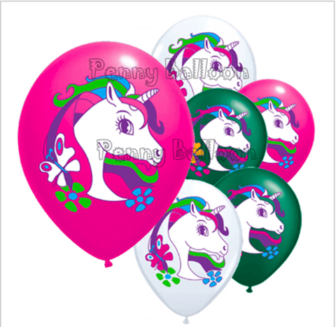 The Unicorn Birthday Party Decorations x 23pc