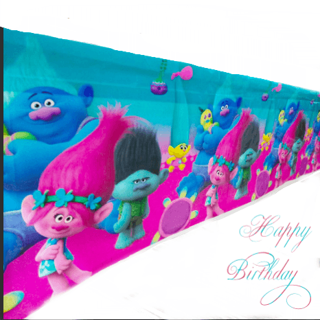 Trolls Party Table Cover
