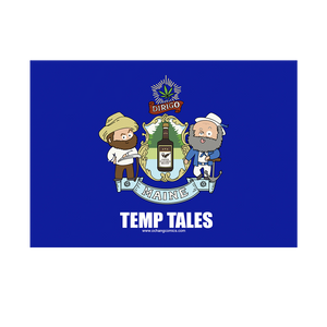 Bumper Sticker -Temp Tales Maine Seal