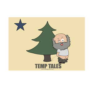 Bumper Sticker - Pine Tree Flag