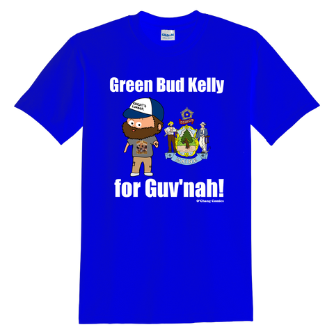 T-Shirt - Green Bud Kelly For Guv'nah