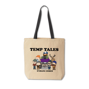 Temp Tales Tote Bag