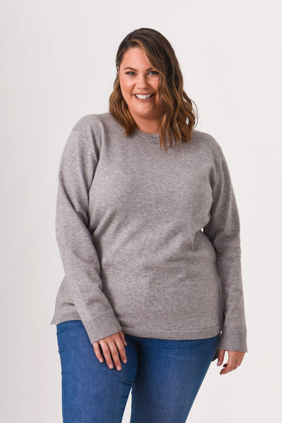 Kyra Knit - Marle Grey