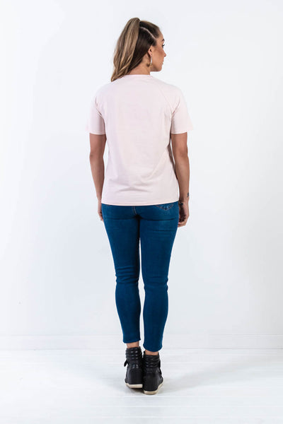 All You Need is Love Mummy Tee - Blush
